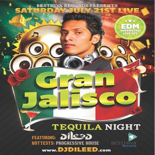 Tequila Night 21st July 2012 Live @ Vouge The Club, KL