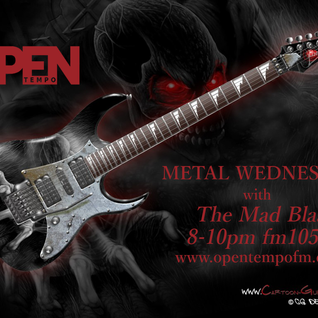 June 10th - Metal Wednesday - OpenTempo FM 105.1