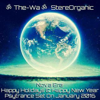 Nova Era - Happy Holidays & Happy New Year, Psytrance Set on January, 2016