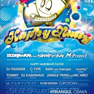 DJ C-TYPE - Play at [Happy Nutty](2016-05-04)