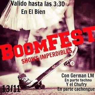 German LM @BoomFest -El Bien (Rojas)part 1