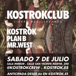 Mr West Live Opening set @ KOSTROKCLUB 7/7/2012 - part 1