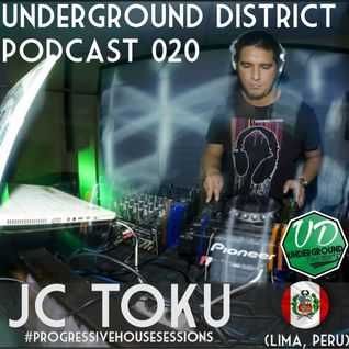Underground District 020 Special Guest JC TOKU (Perú)
