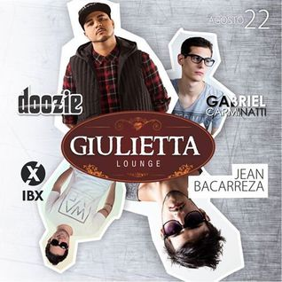 Gabriel Carminatti @ Giulietta Lounge 22/08/2015 (Doozie, Jean Bacarreza, Ibx)