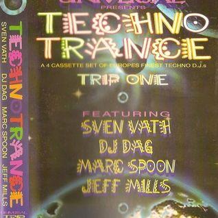 MARK SPOON - TECHNO TRANCE  TRIP ONE MIXTAPE 1993