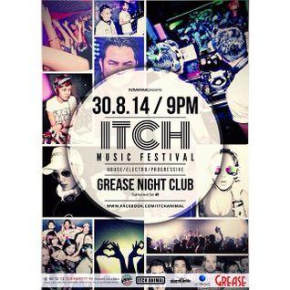 DJ.RoMPeR & M.A.D.K. Live @ Grease (Itch Music Festival) - 30.8.14