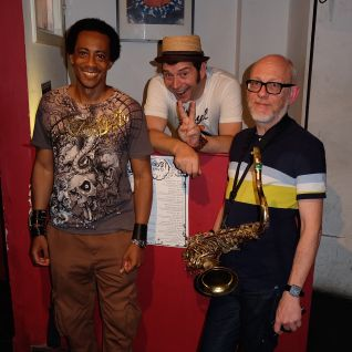 """JEFF THE FISH, MARK NORTON AND U B NICE - """"ITS YOUR THING"""" LIVE! - FUNKY HIP HOP SESSION"""