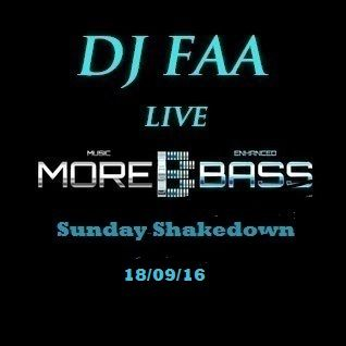 DJ FAA... LIVE ON MOREBASS ..SUNDAY SHAKEDOWN