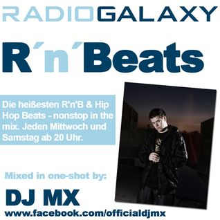 DJ MX // Radio Galaxy RnBeats // August 2011 Pt1 // 60min // one-shot live mix
