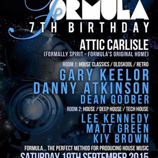 Formula 7th Birthday @ Attic - Carlisle (19/9/2015) [Spirit Reunion]