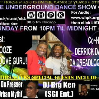 2.17.2013 Underground Dance Show By DJ Snooze & Derrick Thompson With Guest Jo de Presser