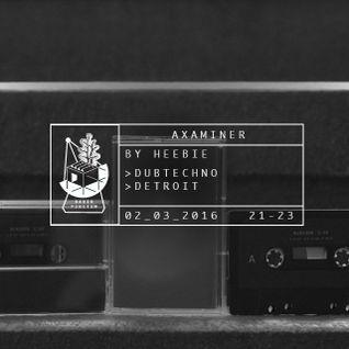 Axaminer 03/16 by Heebie