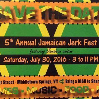 Dj Mega - live at Jamaican jerk Fest 2016