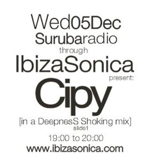 Cipy [in a DeepnesS Shoking mix] for Surubaradio on Ibizasonica Slide 2