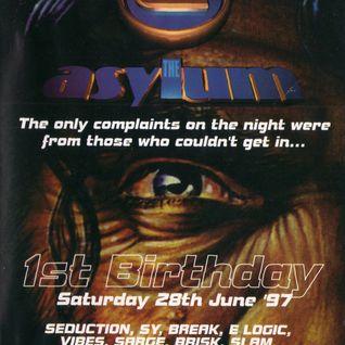 DJ Slam - Asylum 1st Birthday 28th June 1997