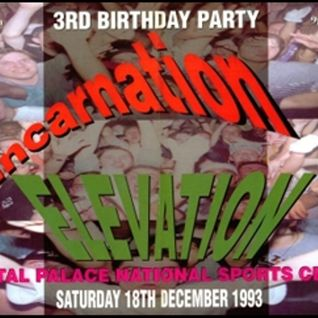 Slipmatt & Fabio with MC MC & Stevie Hyper D - Elevation & Reincarnation '3rd Birthday Party' 1993