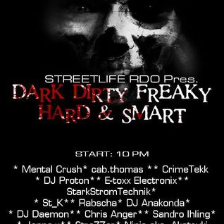 Mental Crush @ Dirty Freaky Hard & Smart Broadcast Mixlr FRI 05.07.2013