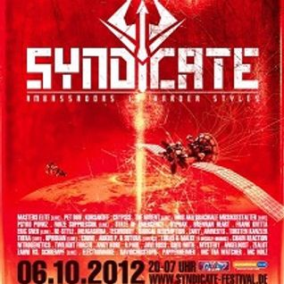 GREG NOTILL - SYNDICATE 2012 promo Set