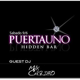 Max Cagliero  - Live @ Puerta 1-BsAs - 09.06.2012 [ part I ]