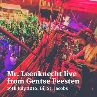 Live from Gentse Feesten (19th July 2016, Bij St. Jacobs)