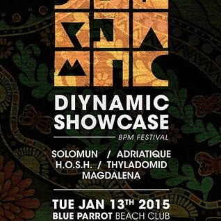 @SolomunMusic Solomun @ Diynamic Showcase - BPM Festival 2015 13-01-15