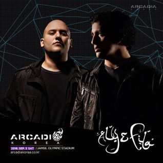 Aly  Fila - Live @ Arcadia Festival (South Korea)