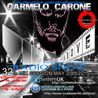 Carmelo_Carone_VIBES_FROM_ABOVE-32th_Mix_Session-MAY_20th_2015
