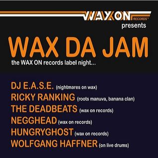 The Deadbeats - Paris - 'Wax Da Jam' - Nouveau Casino