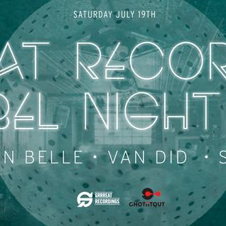 Live DJ Set @ Grreat Recordings Label Night XIII ( 19.07.14)
