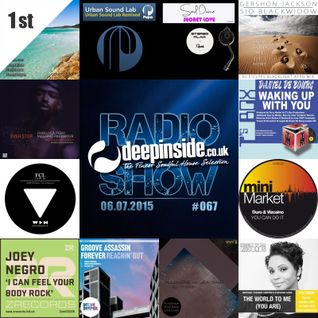DEEPINSIDE RADIO SHOW 067 (Terry Hunter Artist of the week)