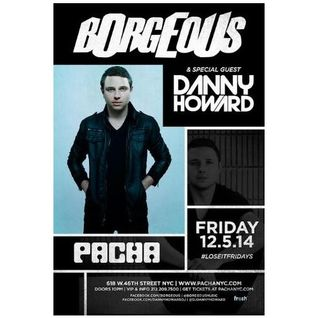 Borgeous - Live @ Pacha (New York City) - 05.12.2014