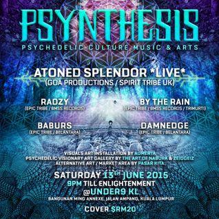 Psynthesis 13 June 2015