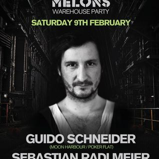 Guido Schneider - Exclusive DJ Set for Dented Melons London, February 2013
