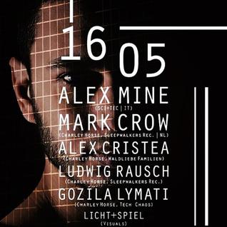 Alex Mine @Harry Klein - Munich 16.5.2014