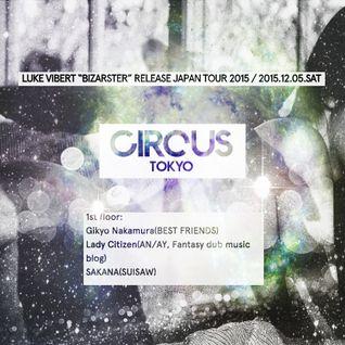 Dec 5th At Circus Tokyo LC 2h Set Promo Mix