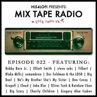 Mix Tape Radio on Folk Radio UK | EPISODE 22