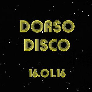 Dorso Disco - 16.01.16