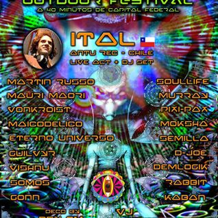 Dj Mauri Maori _ Other Psy Bs.As._ Psytrance Set_Nov.2013
