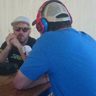 Ashley MacIsaac chats with Jack at EDMONTON FOLK MUSIC FESTIVAL 2015