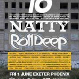 Hold it Down presents Natty Live and Roll Deep (01/06/12) - Crypticz Live Set