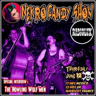Nekro Candy Show -Howling Wolfmen interview- (June 12th, 2014)