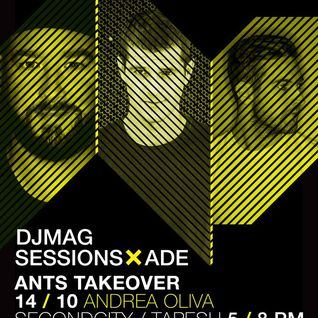 Andrea Oliva - live at DJ Mag Sessions, ANTS Takeover, ADE 2015 - 14-oct-2015