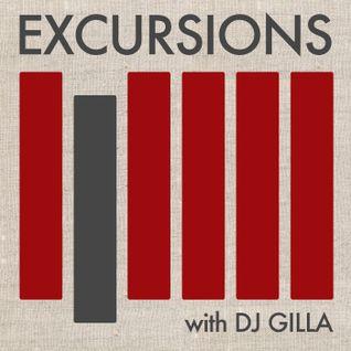 Excursions Radio Show # 1 with DJ Gilla - Feb 2012
