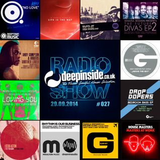 DEEPINSIDE RADIO SHOW 027 (Andy Compton Artist of the week)