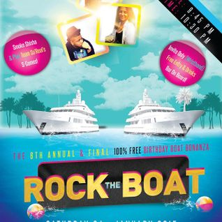 Rock The Boat (Obi Smalls 7th Annual Birthday Bash) (25/01/2015)