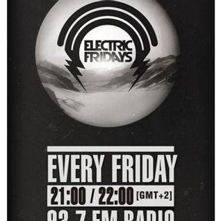 Elias Kwnstantinidis  Live At '''Electric Fridays'' [Radio Proini 93,7 Fm]