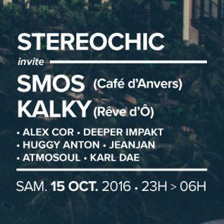 Special House / Garage Classics DJ set for StéréoChic @ Baron, Lille - 2016-10-15