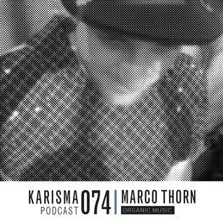 KARISMA PODCAST #074 - ORGANIC MUSIC PART II