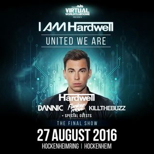 Hardwell @ I am Hardwell #UnitedWeAre World Tour 2016 (Germany) [FREE DOWNLOAD]