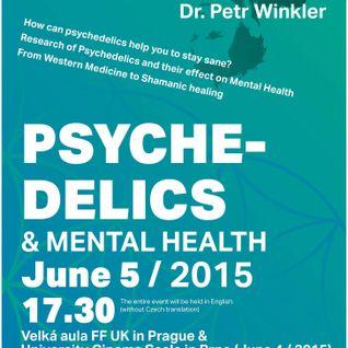 Psychedelics and mental health - Dr. David Luke - Praha 5/6/2015